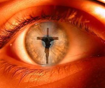 Croce nell'occhio
