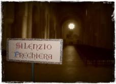 silenzio preghiera cv