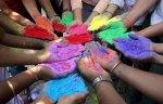 abbraccio colorato