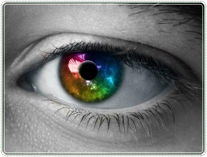 occhio colorato cv