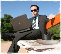 businessman cv