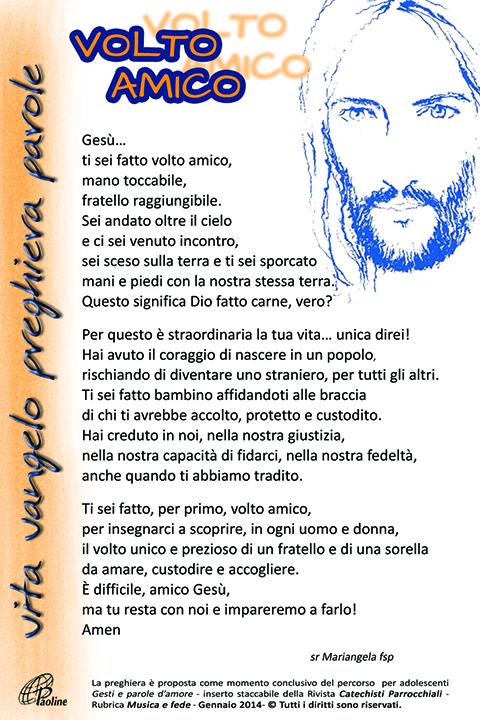 Top Volto amico: Preghiera e dinamica – da Ragazzi & Dintorni Gennaio  IX02