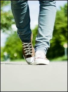 camminare cv