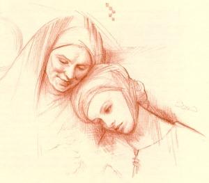 elisabetta e maria