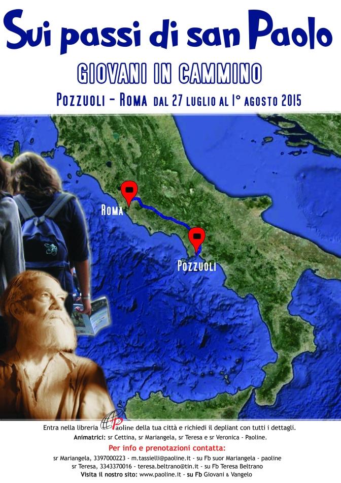 Campo Sui passi di san Paolo per giovani fino a 35 anni!