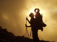 trekking essenziale bastone