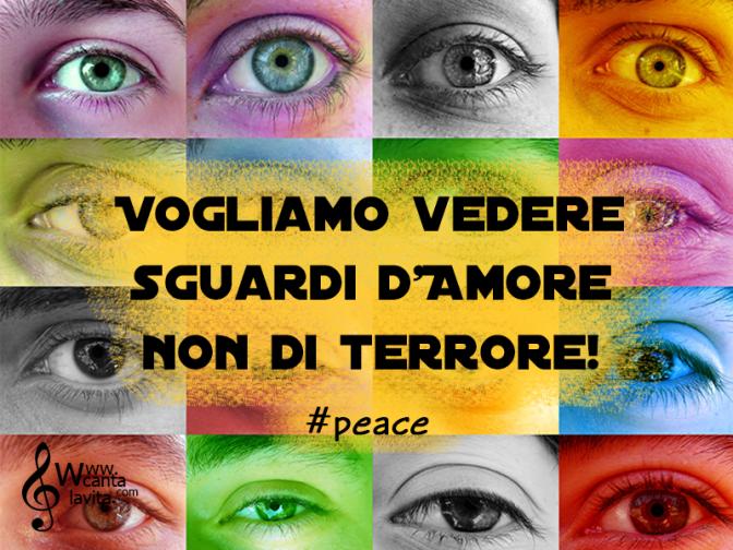 Noi vogliamo la pace!