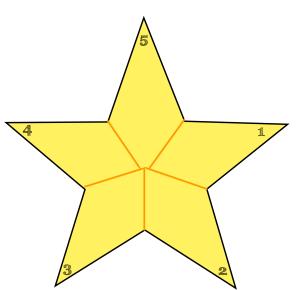 Clicca, scarica, fotocopia, ritaglia e consegna la stella ;-)