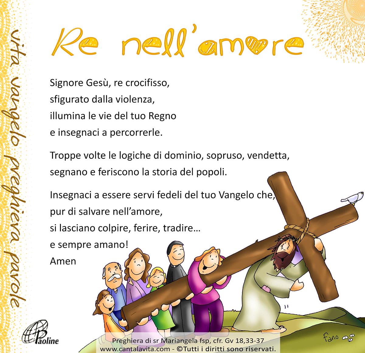 Risultati immagini per immagini canta la vita .com 34 domenica ordinario C - Cristo Re