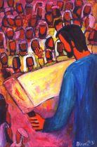 gesù parla nella sinagoga