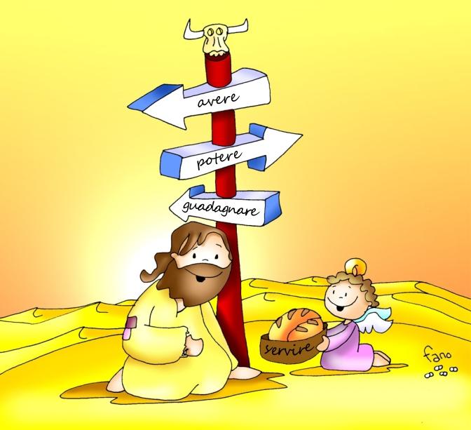 Nel deserto con lo Spirito – Buona domenica! – I domenica Quaresima – anno C