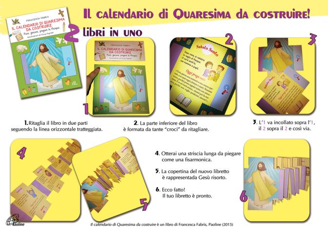 Il calendario della Quaresima da costruire_F.Fabris/Paoline