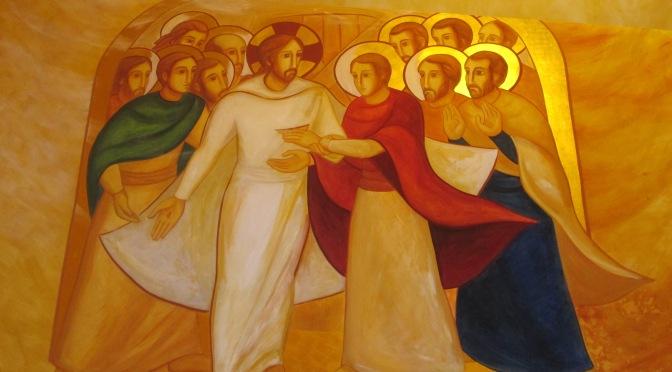 Entra Signore Risorto! – Buona domenica! – II Domenica Di Pasqua – anno C