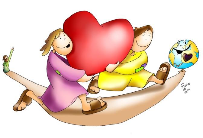 Amate! – Buona domenica! – V Domenica Di Pasqua – anno C