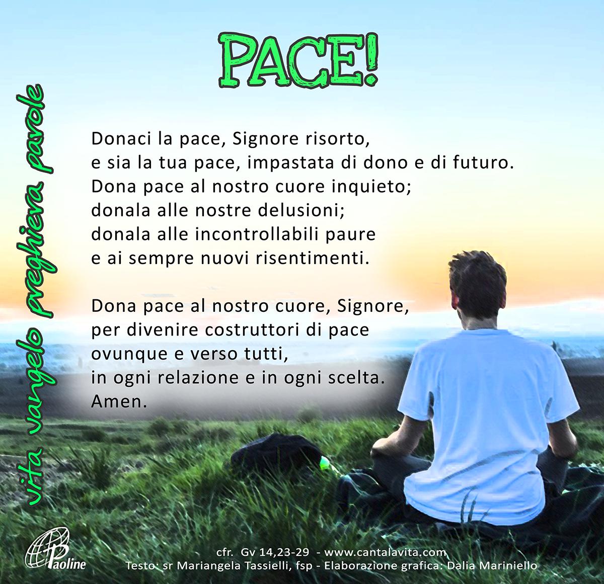 Exceptionnel VI Pasqua preghiera | Cantalavita FT34