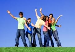 giovani gioia felicità