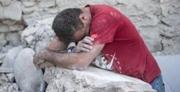 terremoto disperazione