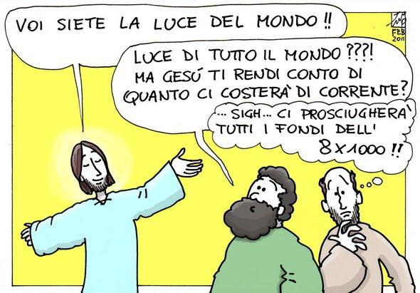 Rendici sale! – Buona domenica! – V Tempo Ordinario – Anno A