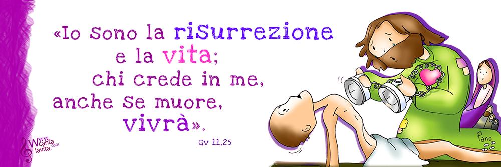 Facci vivere! – Buona domenica! – V domenica di Quaresima – Anno A ...