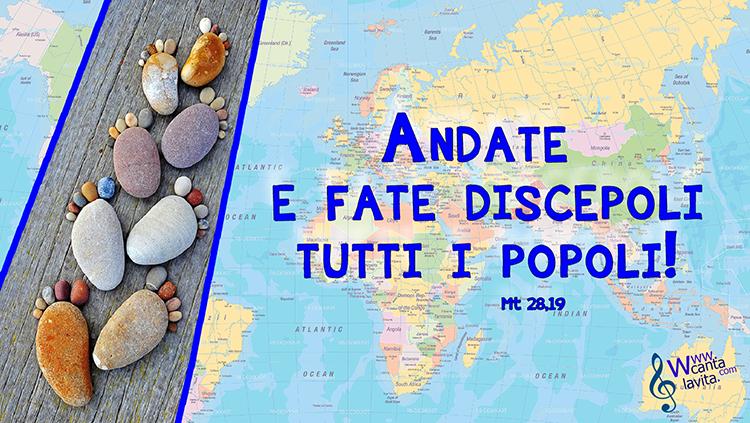 Rendere discepoli – Buona domenica! – Domenica dell'Ascensione – Anno A