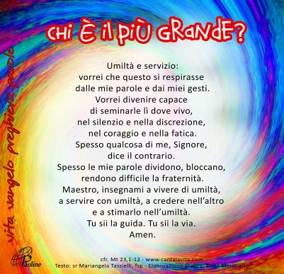 XXXI TO_preghiera