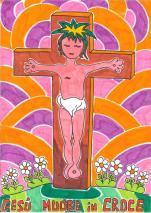 12 STAZIONE Gesù muore in croce