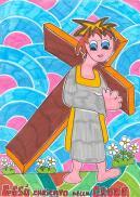 2 STAZIONE Gesù caricato della croce
