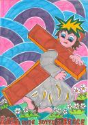 3 STAZIONE Gesù cade sotto la croce