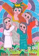 8 STAZIONE Gesù incontra le pie donne
