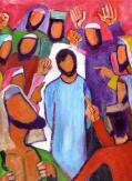 Gesù davanti ai sommi sacerdoti