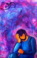 Gesù in preghiera al Getzemani