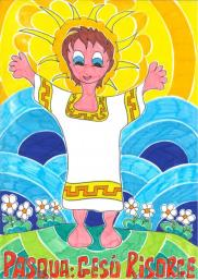 Pasqua_Gesù risorge