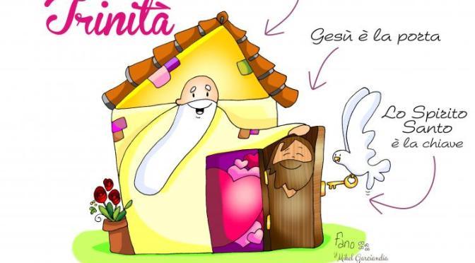 Abbracciati dall'amore – Buona Domenica! – Solennità della SS. Trinità – anno B