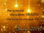 Auguri 2019 -grazie-si