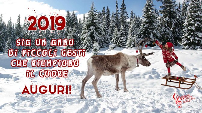 Foto-auguri capodanno 2018-2019