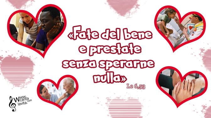Pagine scomode – Buona domenica! – VII TEMPO ORDINARIO – Anno C