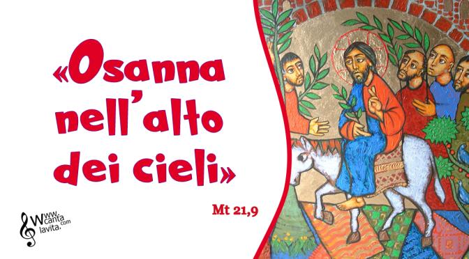 …per amore – Buona domenica! – Domenica delle Palme – anno C