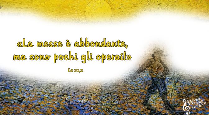 Andare e seminare pace – Buona domenica! –  XIV Tempo Ordinario  – anno C