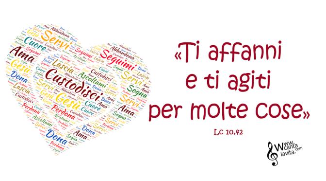 Custodire – Buona domenica! –  XVI Tempo Ordinario  – anno C