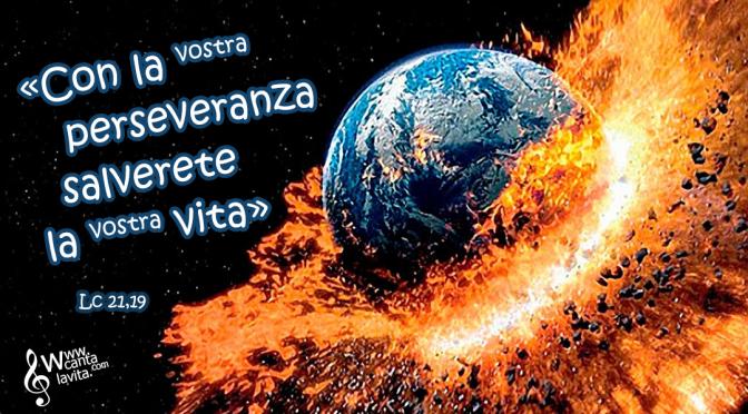 Rispondere alla paura – BUONA DOMENICA! – XXXIII TEMPO ORDINARIO – ANNO C