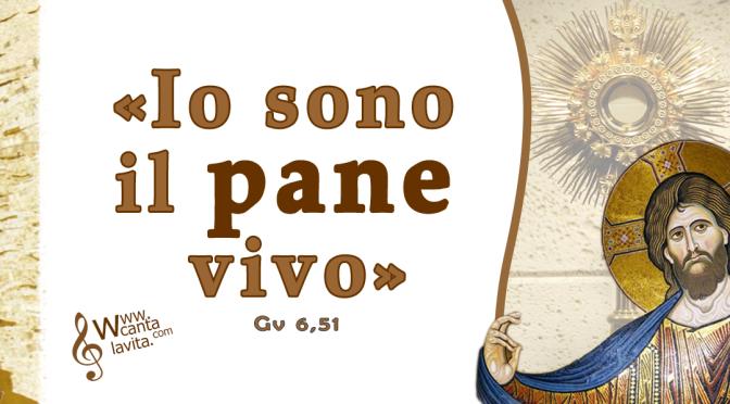 Dono d'amore – BUONA DOMENICA! Santissimo Corpo e Sangue di Cristo – ANNO A
