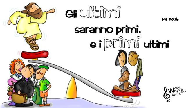 NO all'invidia! – BUONA DOMENICA! XXV Tempo Ordinario – ANNO A