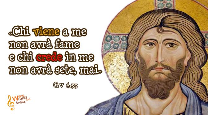 Dacci questo pane! – BUONA DOMENICA! XVIII DOMENICA DEL TEMPO ORDINARIO – ANNO B
